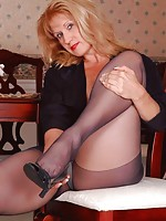 mature men in nylons