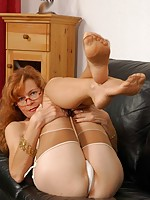 russian mature ladies nylon